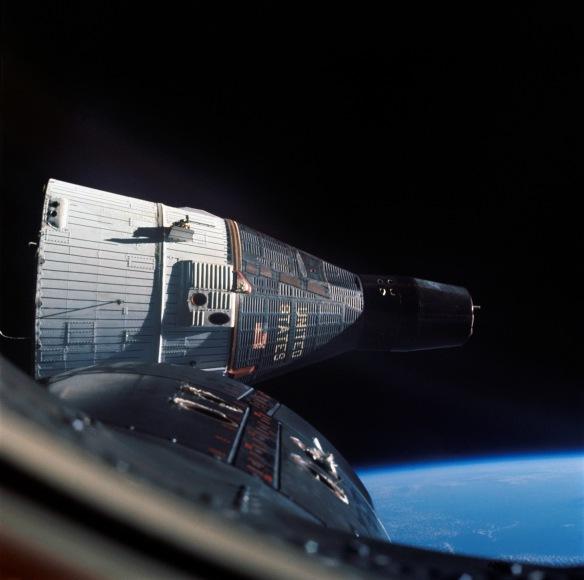 Gemini 7 from 6