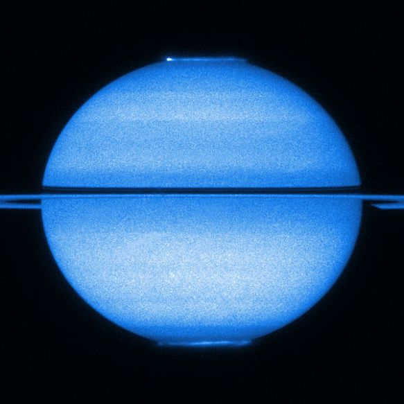 Saturn in UV