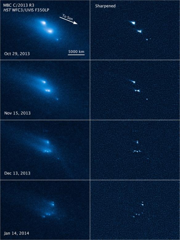 asteroid-disintegration