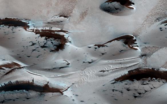 Martian Spring Dunes