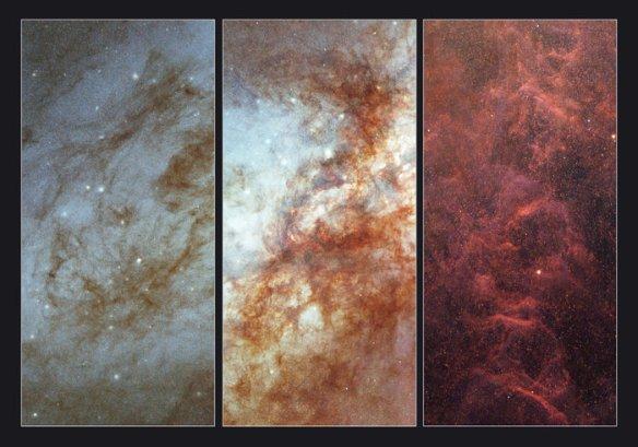 M82 closeups