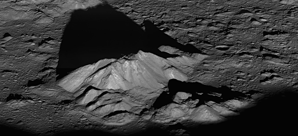 Tycho's Central Peak