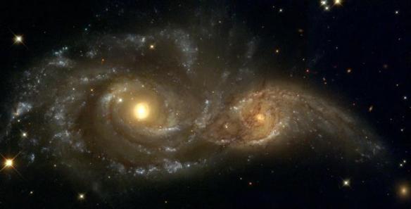 ngc 2207 & IC 2163