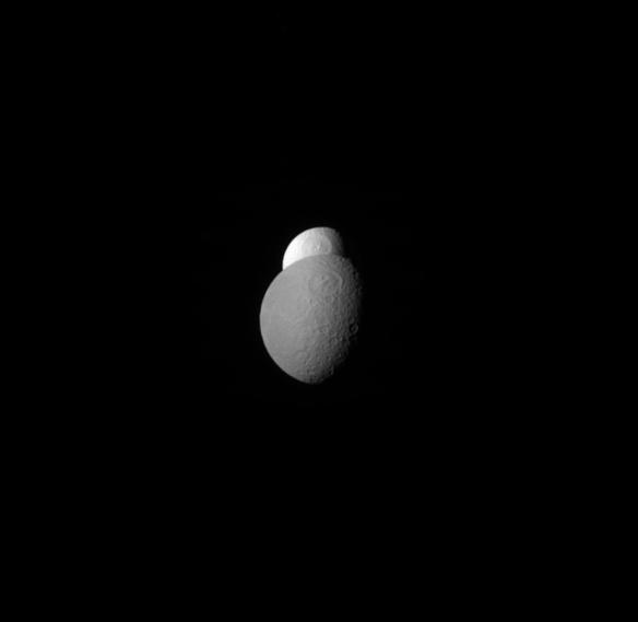 Tethys and Rhea