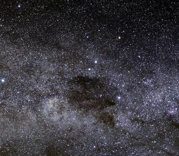 The Coalsack and the Southern Cross