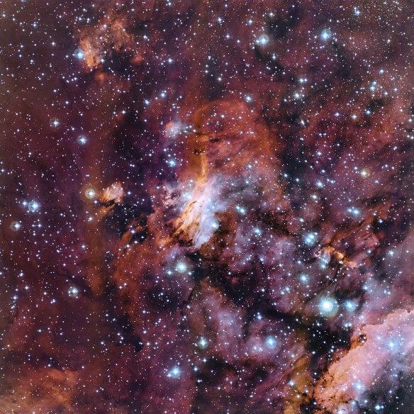 The Prawn Nebula in close-up