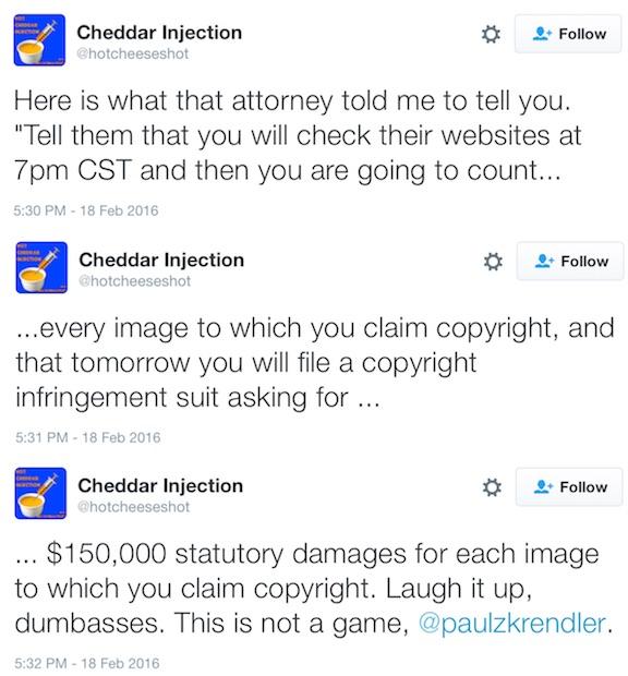 Cheddar Copyright