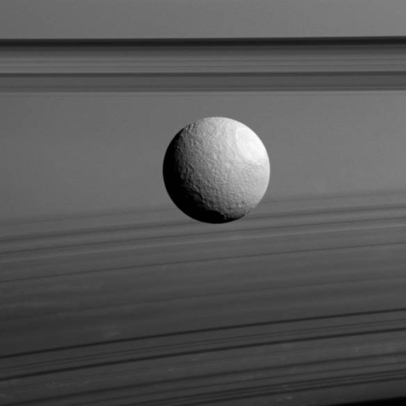 Tethys and Rings on Edge