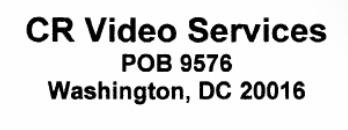 CRVideo letterhead
