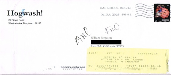 FiFI Envelope redacted